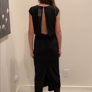 NWT Blaque Label Openback Jersey Maxi Dress